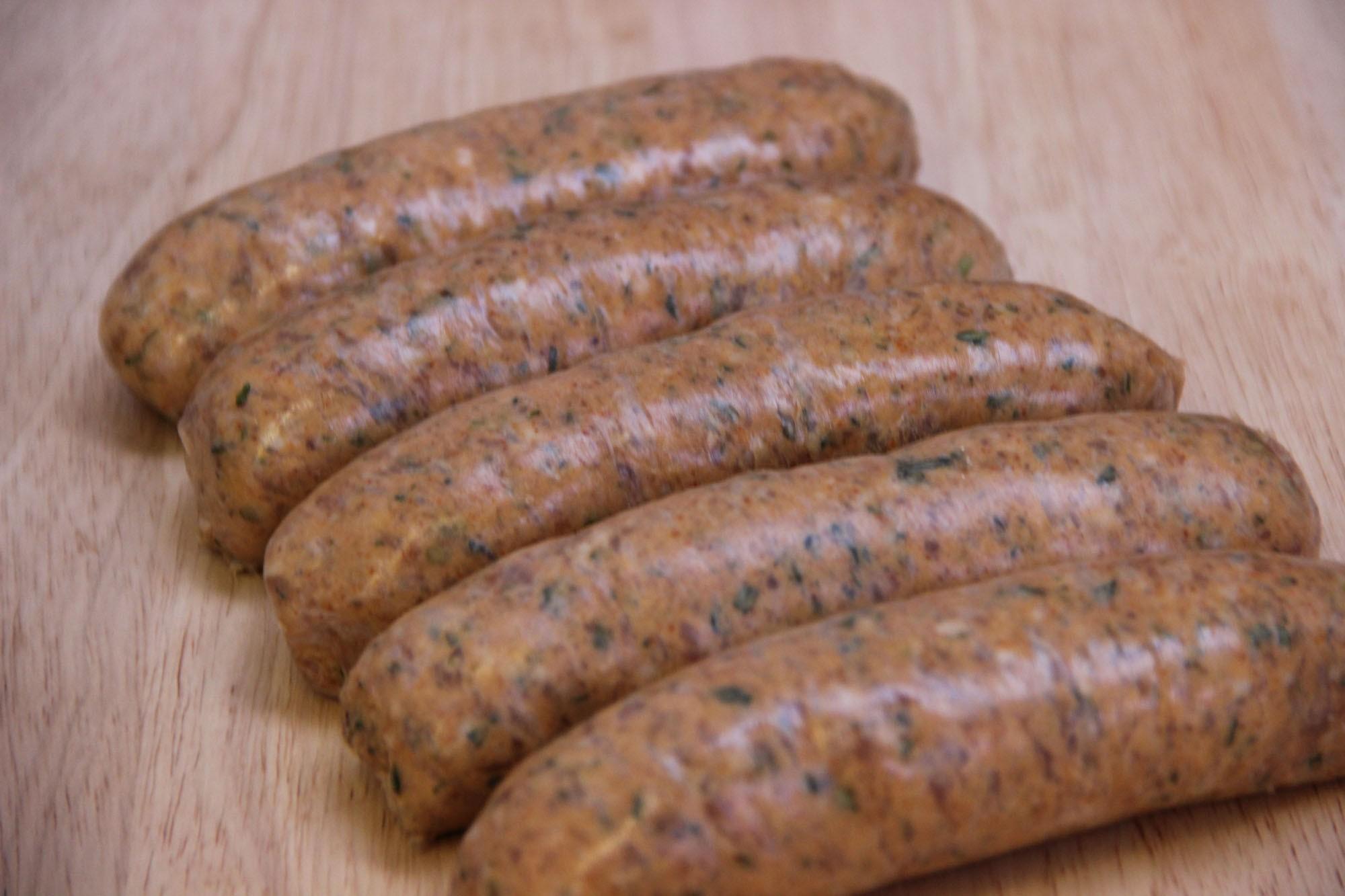 Pork Leek And Chilli Sausage